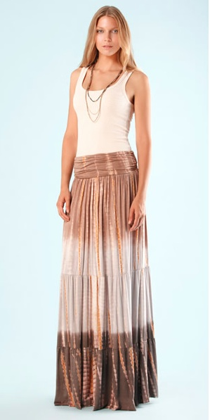 Cabana Tie Dye Skirt