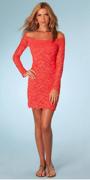 Lace Dress Off Shoulder