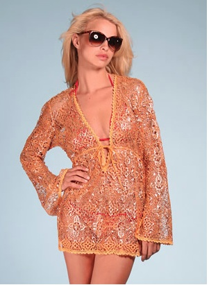 Resortwear Crochet Tunic