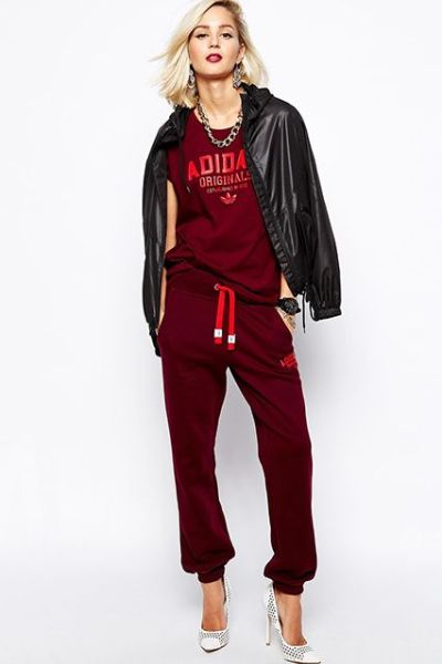 ruby red leisure wear