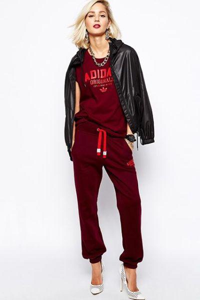 ruby red leisure wear
