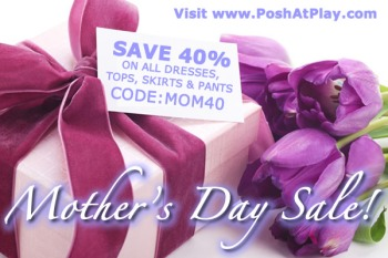 Mother's Day online fashion sale