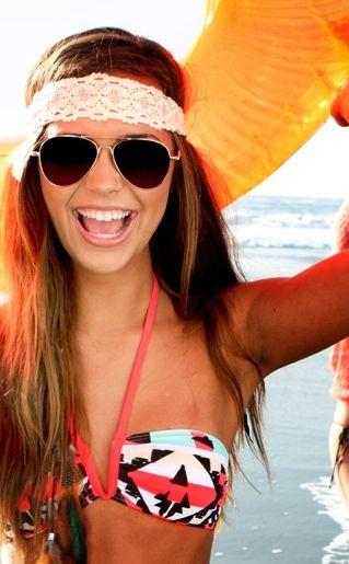 tropical print bikini swimwear for summer