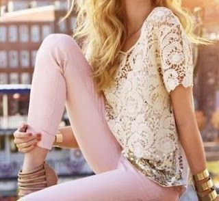 pale pink leggings ballet inspired fashion