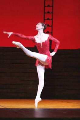Svetlana Zakharova Carmen red dress