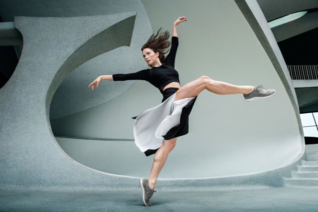 Cole Haan ballet inspired fashion