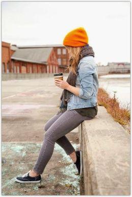 Northwest style skinny jeans