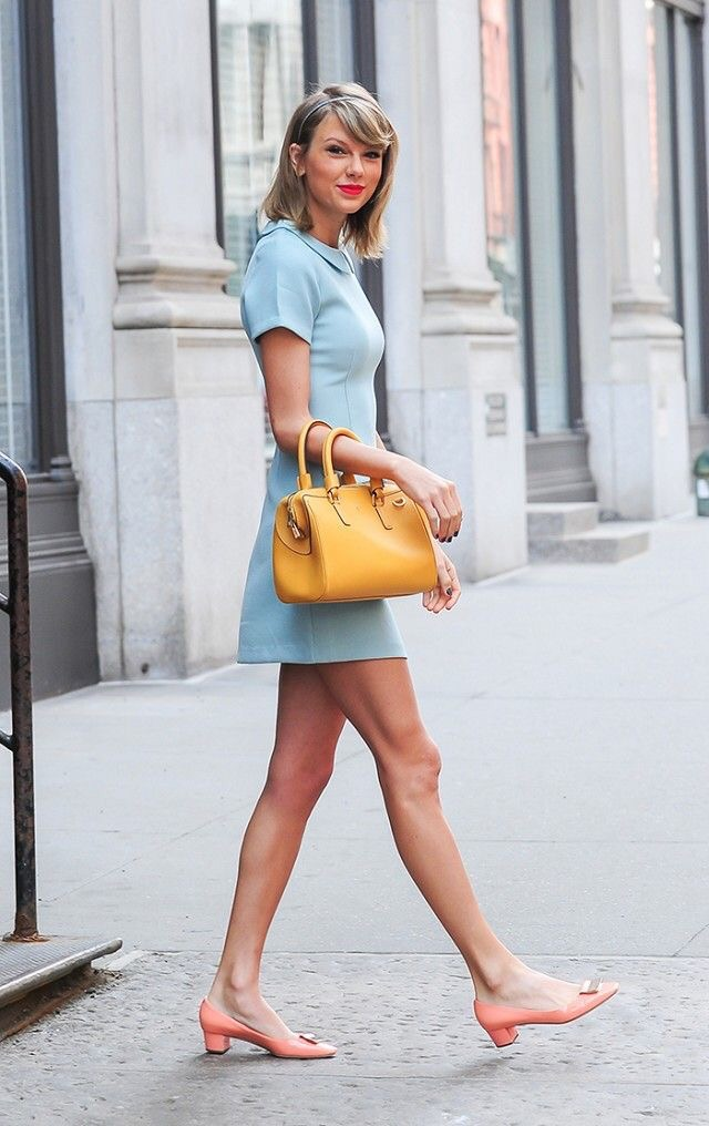 Taylor Swift A line Fall dress