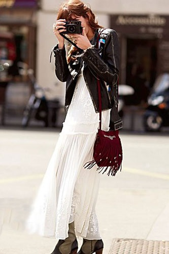 white lace maxi dress for Fall
