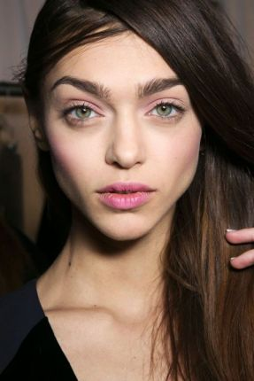 blush pink makeup Fall 2015