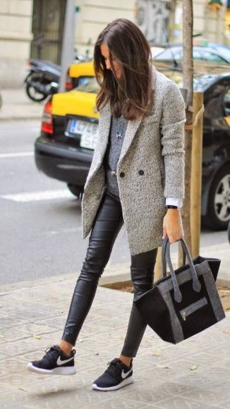 leather leggings for Athleisure style