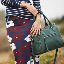 emerald green handbag for Fall