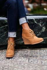 suede ankle booties Fall 2015