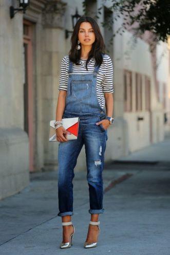 90's jean overalls