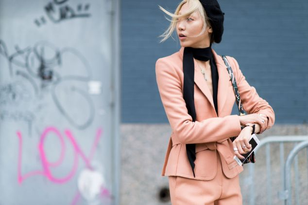 blush pink trend for Fall 2015