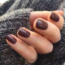 marsala nail color for Fall 2015