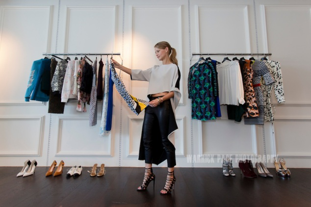 Holli Rogers of Net a Porter