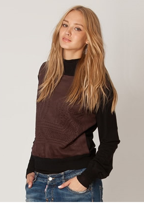 leather-embossed-sweatershirt