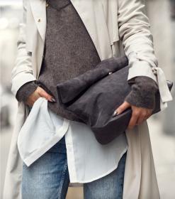 suede-purse